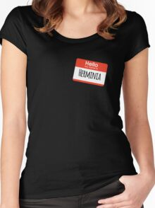 Hello My Name is Herminia Women's Fitted Scoop T-Shirt