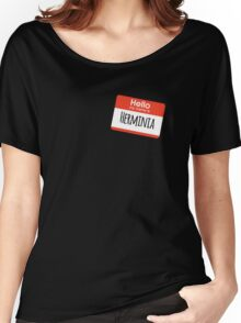 Hello My Name is Herminia Women's Relaxed Fit T-Shirt