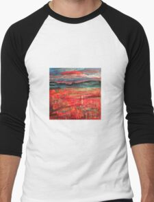 Untitled landscape Men's Baseball ¾ T-Shirt