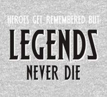 Heroes Get Remembered 1 Kids Tee