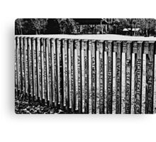 Built by love - pencil drawing Canvas Print