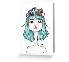 Time Queen Greeting Card