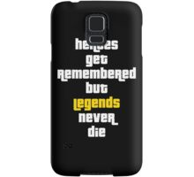 Heroes Get Remembered 2 Samsung Galaxy Case/Skin