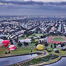Boarding Balloons in Williamstown by JenniferW