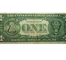 One dollar USA by sculler