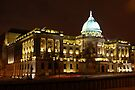 The Mitchell Library, Glasgow at Night by David Alexander Elder