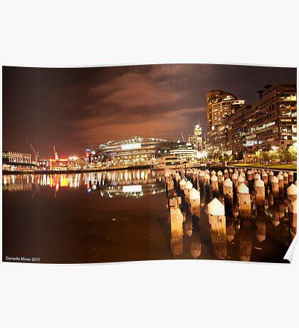 Melbourne Docklands Poster