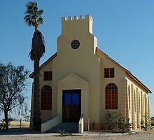 a church in Usakos by Martina  Stoecker