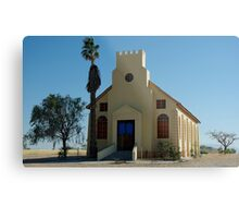 a church in Usakos Metal Print