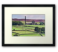 South Pennine View Framed Print