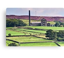 South Pennine View Canvas Print
