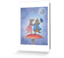 Dancing the Night Away Greeting Card