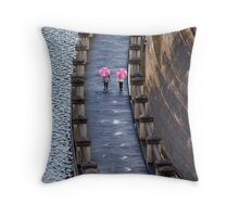 Lollypop Ladies Throw Pillow