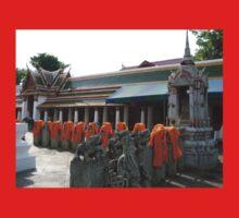 Kasaya Off the Backs of Buddhist Bhikkhu Kids Tee