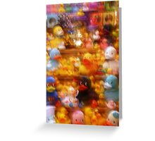 Fuzzy Ducks Greeting Card