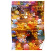 Fuzzy Ducks Poster