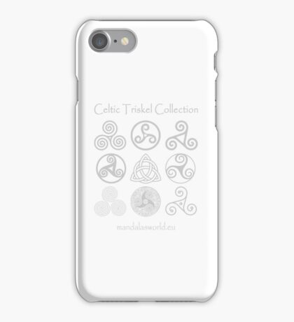 Celtic Triskell Collection Light iPhone Case/Skin