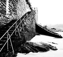 Stairs to San Sebastian  by Evan Faris