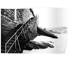Stairs to San Sebastian  Poster