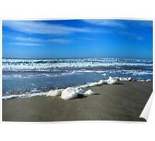 """"""" Sea Foam """" Poster"""