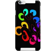 abstract rings alt version iPhone Case/Skin