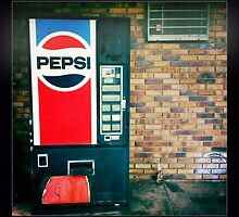 Pepsi Vending Machine by thejourneysofar