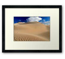 Sandscape Framed Print