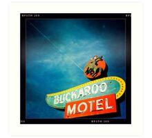 Buckaroo Motel Art Print