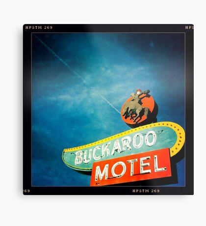 Buckaroo Motel Metal Print
