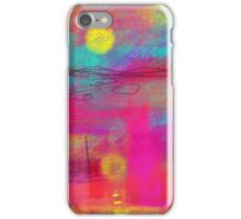 Tartan landscape iPhone Case/Skin