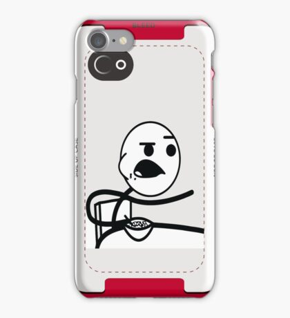 Cereal Guy Face MEME iPhone Case/Skin