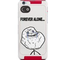 Forever Alone Face MEME iPhone Case/Skin