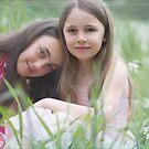 in a field of spring flowers .............. by deborah brandon