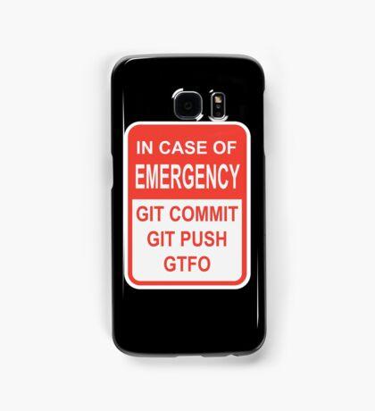 Git Emergency Samsung Galaxy Case/Skin