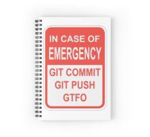 Git Emergency Spiral Notebook