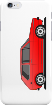 Volkswagen Golf Mk1 - Red by Volkswagen Guy
