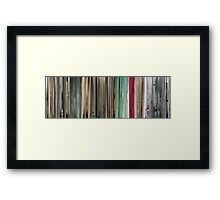 Moviebarcode: The Animatrix 6: World Record (2003) Framed Print