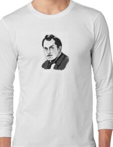 Vincent Price Horror Movie Art Long Sleeve T-Shirt