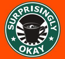 Sherlock's Coffee (Surprisingly Okay) Kids Tee