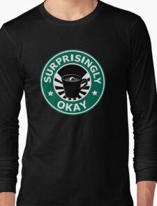 Sherlock's Coffee (Surprisingly Okay) Long Sleeve T-Shirt