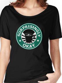 Sherlock's Coffee (Surprisingly Okay) Women's Relaxed Fit T-Shirt