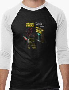 Death Sticks Men's Baseball ¾ T-Shirt