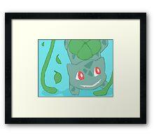 Bulbasaur Framed Print