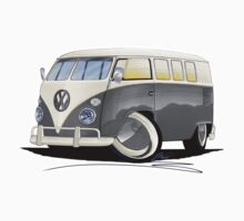VW Splitty (11 Window) Grey by Richard Yeomans