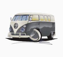 VW Splitty (11 Window) Grey by Richard Yeomans