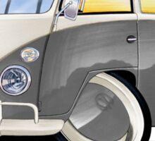 VW Splitty (11 Window) Grey Sticker