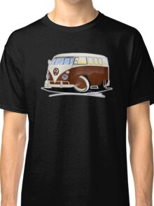 VW Splitty (11 Window) Brown Classic T-Shirt