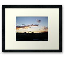 Summer in Migennes - August 2011 Framed Print