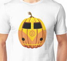 VW Camper Van Pumpkin Unisex T-Shirt