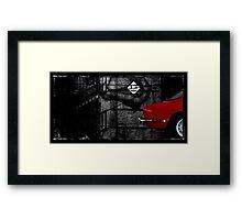 Alfa 2000 Framed Print